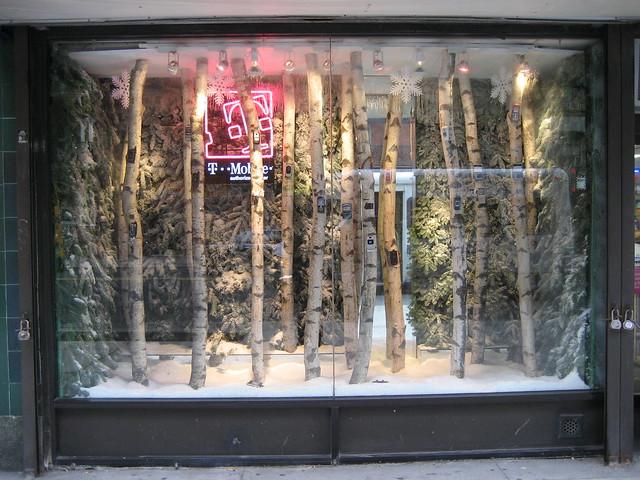 Birch Tree Christmas Decorations
