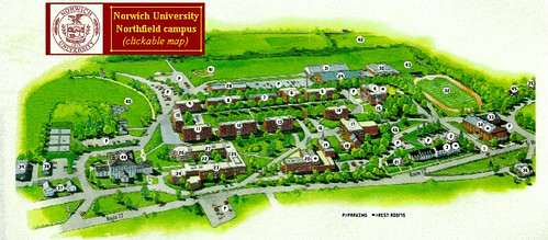 Norwich University Campus Map Norwich University Campus Map – Bestinthesw