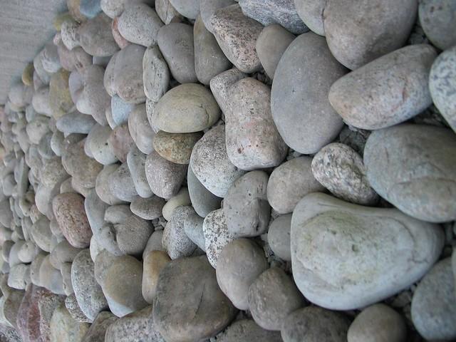 Sten runt huset
