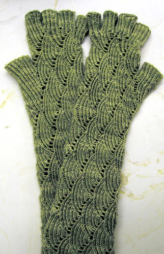 Snake Charmers (a.k.a. Mermaid Gloves)
