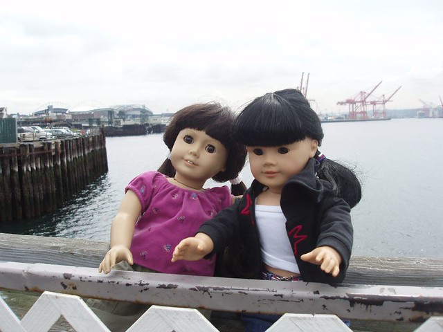 Good friends on the Pier