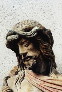 Briey, Lorraine, église St-Gengoult, Jesus