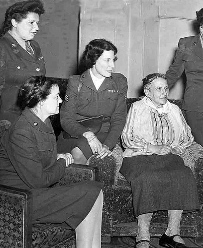 Gertrude Stein and Visitors