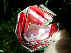 Paper Ornaments 11 Photos | Ornaments: Origami Cabbage Rose | 716