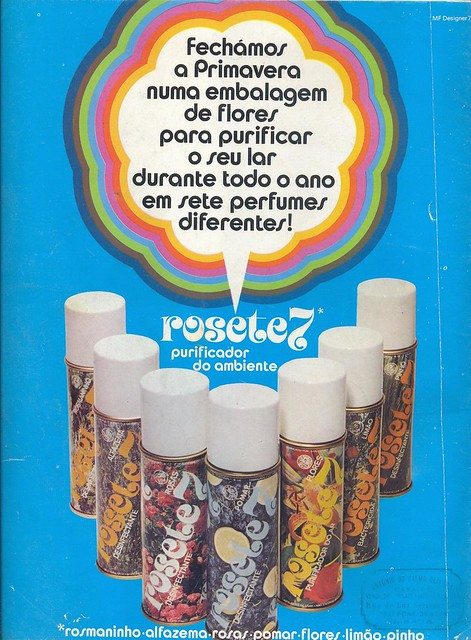 Gente, Nº86, July 1975 - back cover