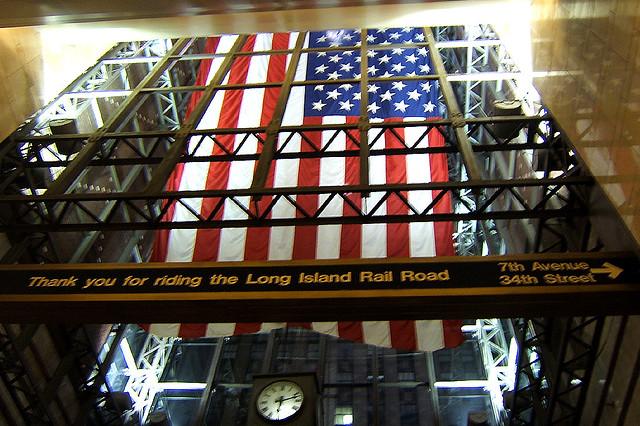 Penn Station flag