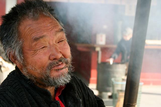 Old japanese man