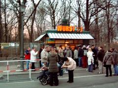 Bratwurst booth