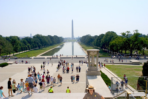The Mall, Reflecting Pool, and Washington Monument 13466