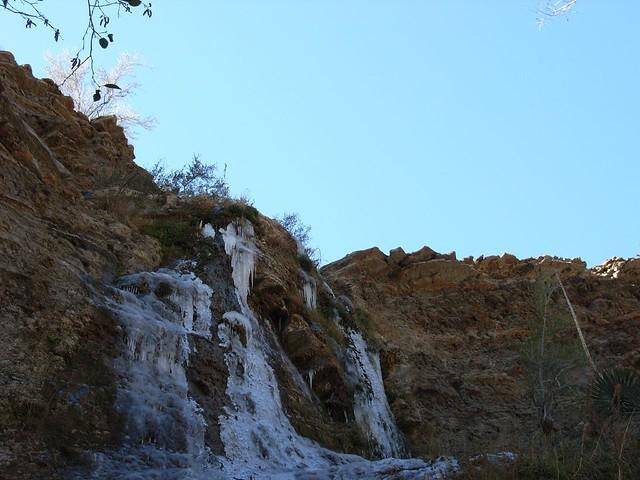 Frozen Fall, Canyon Wall