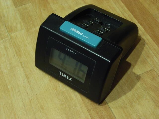 Indiglo alarm clock - a photo on Flickriver