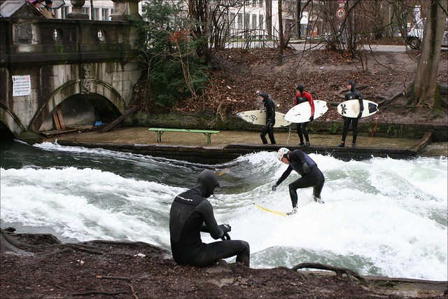 Surfin' in Munich