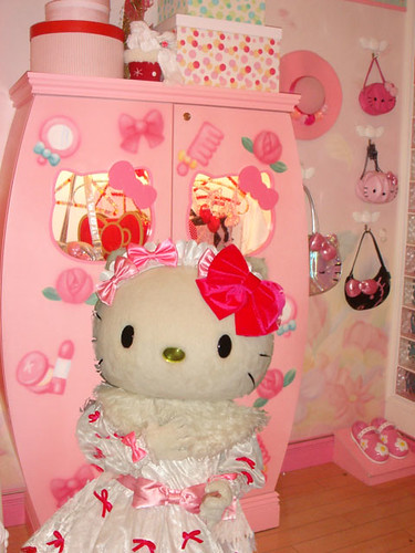 Hello Kitty's Wardrobe
