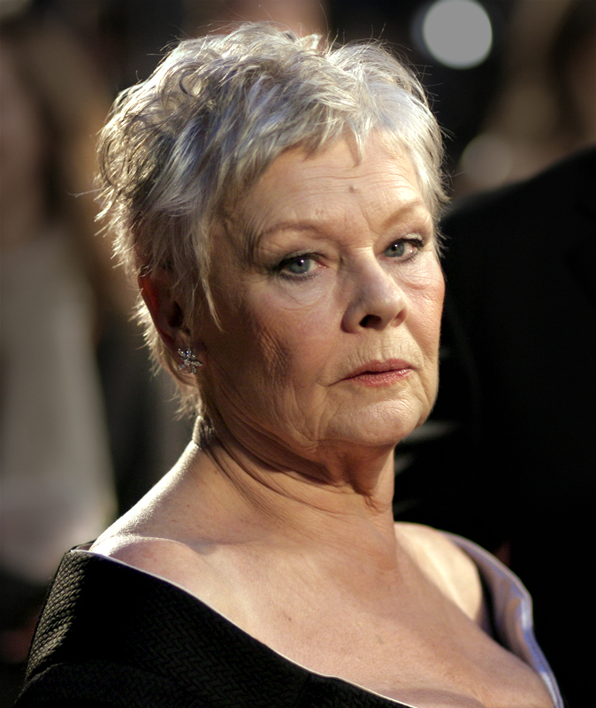 Dame Judi Dench at the BAFTA 2007