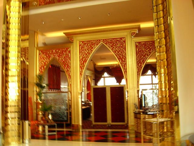 Inside Burj Al Arab Gold Flickr Photo Sharing