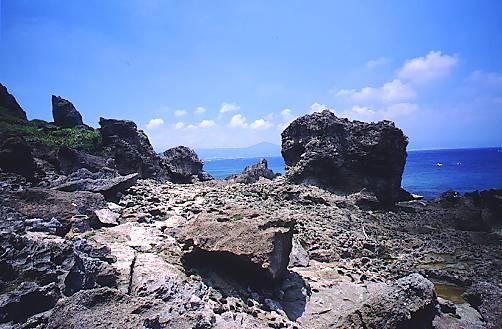 T378墾丁貓鼻頭公園裙礁海岸