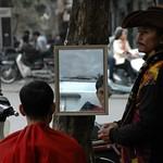 Getting a Haircut - Hanoi, Vietnam