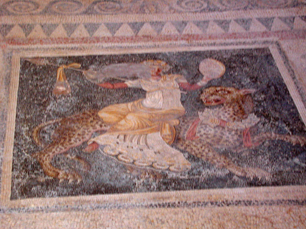 Delos - mosaic floors