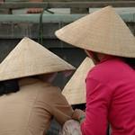Women at Cai Rang - Mekong Delta, Vietnam