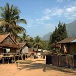 Khmu Village Houses - Luang Prabang, Laos