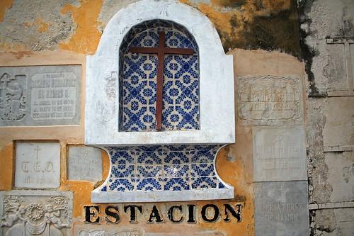 Entrance to the hacienda