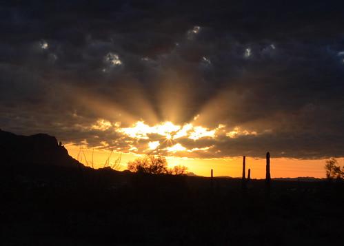 sunrise desert cropped sunrays myfave revised