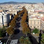 Barcelona w jesiennych barwach