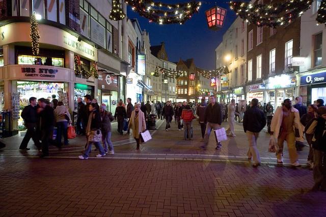 Christmas Shopping Grafton Street Flickr Photo Sharing