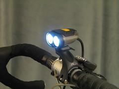 Bicycle headlights/photo courtesy Richard Masoner, Cyclicious - FlickR