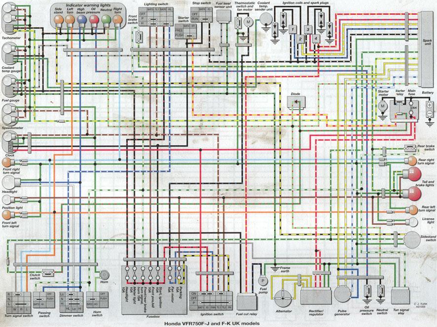 1987 gl1200 aspencade wiring diagram gl1500 wiring diagram