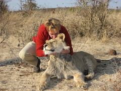 Ines loves lions