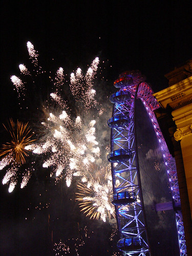 New Years Eve - County Hall London by Craig Grobler