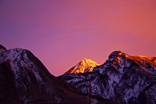 sunset sky mountain utah bravo glow january outstandingshots specland abigfave