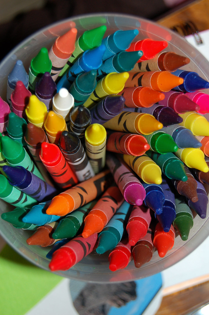 Crayons by iHanna, Copyright Hanna Andersson