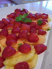 Omega's Fruit Platter