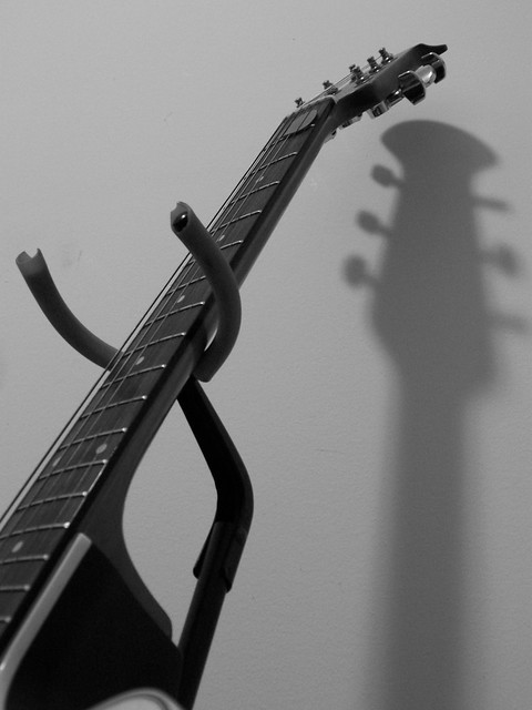 Photo:Guitar Neck Shadow By Subconsci Productions