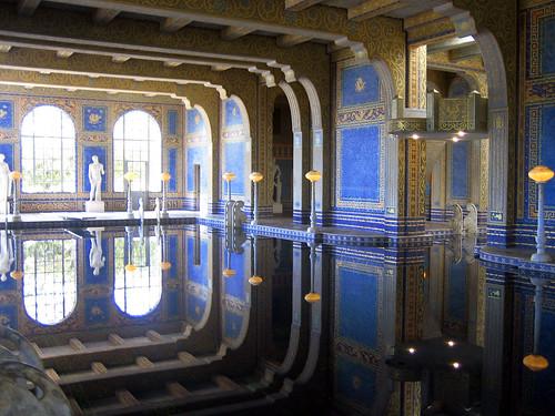 Roman Pool Mosaics 24k Mosaic Gold Casa Grande Hearst