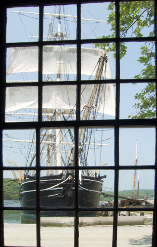Whaling Ship in Mystic Sea Port (Credit: david.nikonvscanon on Flickr.com)