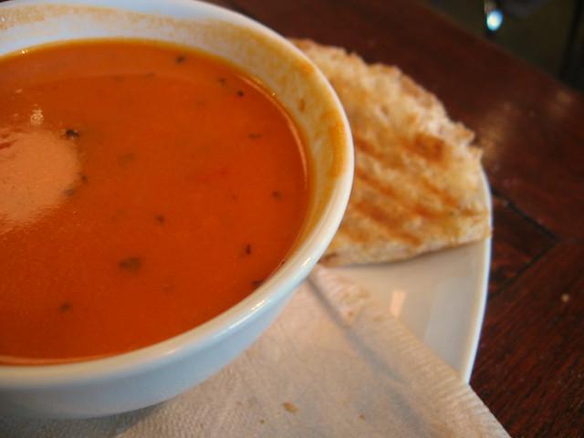 Tomato Gorgonzola Soup | Flickr - Photo Sharing!