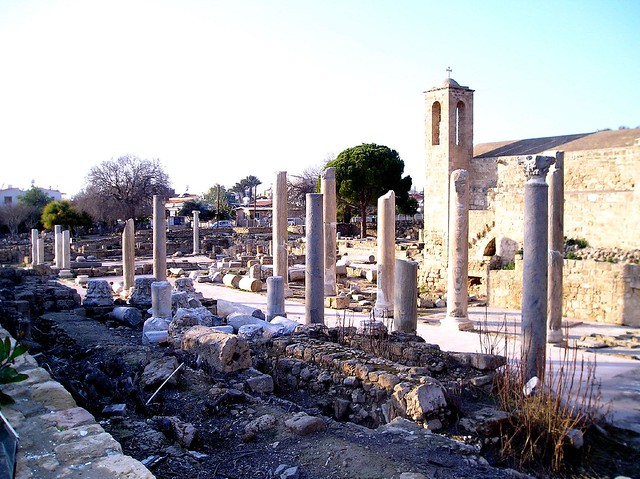 Paphos ruined cathedral