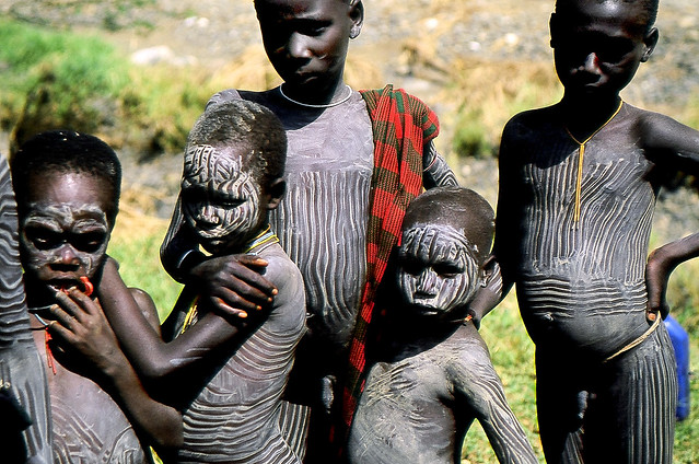 African Tribal Boys http://www.flickr.com/photos/boaz/406278546/