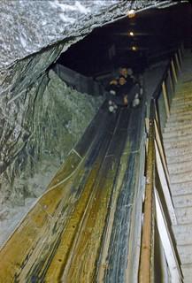Salt Mine Amusement Ride (April 1956)