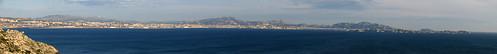 sea panorama mer france islands marseille panoramic if marseilles panoramique îles méditerranée frioul niolon