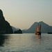 Late Afternoon Sun - Halong Bay, Vietnam