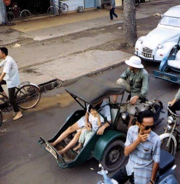 Saigon 1964-68 by Dennis Jax - Street Scene