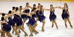 dancesport(0.0), latin dance(0.0), choreography(0.0), ballroom dance(0.0), skating(1.0), ice dancing(1.0), winter sport(1.0), sports(1.0), performing arts(1.0), ice skating(1.0), synchronized skating(1.0), figure skating(1.0), dance(1.0),