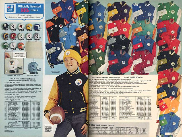 1976 Sears Wishbook Page Football Flickr Photo Sharing