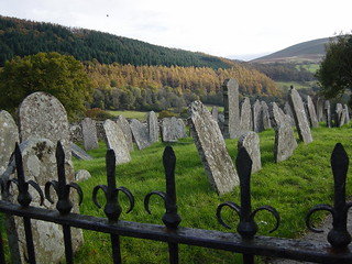 Graveyard near Talybont-on-Usk