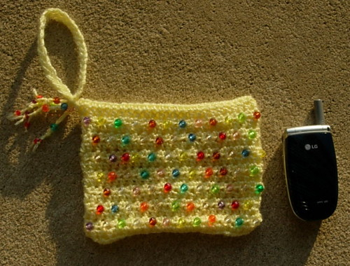 South Bay Crochet - Mile a Minute Sequins and Beaded Purse