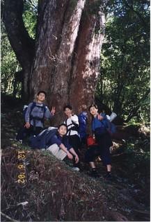加羅湖登山口